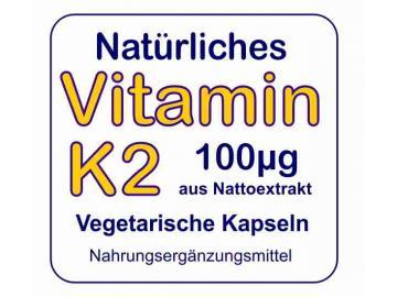 Vitamin K2 als natürliches Menaquinon
